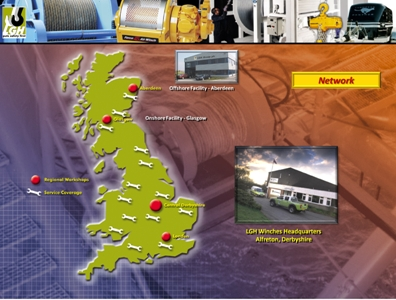 Winches Map