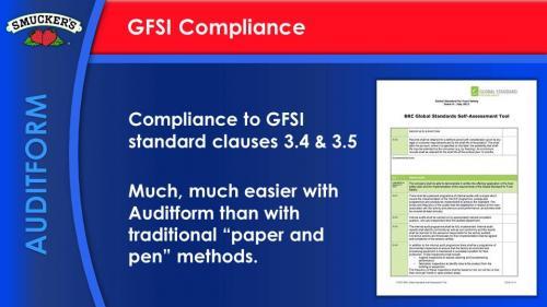 Smucker Compliance