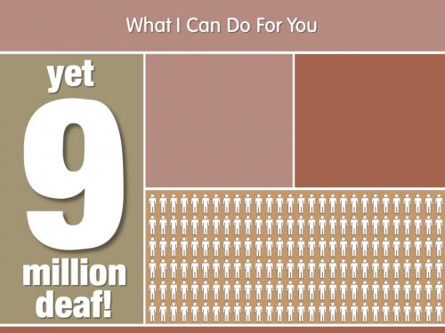 9 Million Deaf
